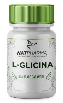 L- glicina 500mg - 60 caps
