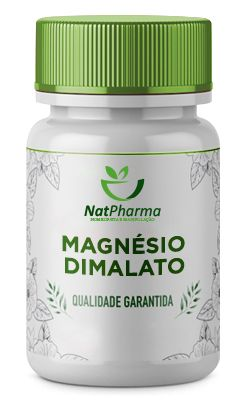 Magnésio Dimalato 500mg - 60 caps