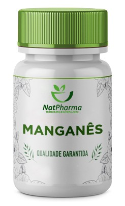 Manganês Quelado 10mg - 60 caps
