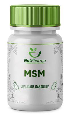 MSM - Metilsulfonilmetano 400mg - 30 caps