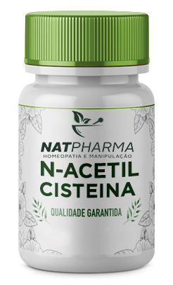 N-Acetil-Cisteína (NAC) 500mg - 60 caps