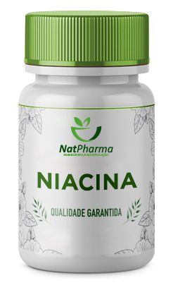 Niacina - Ácido Nicotínico 500mg - 60 caps