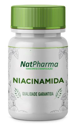 Niacinamida (Vitamina B3) 500mg - 60 caps