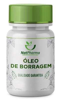 Oléo de Borragem 500mg - 60 caps
