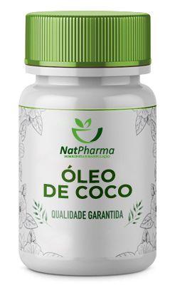 Óleo De Coco 1000mg - 60 caps