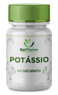 Potássio Aspartato 500mg - 60 caps