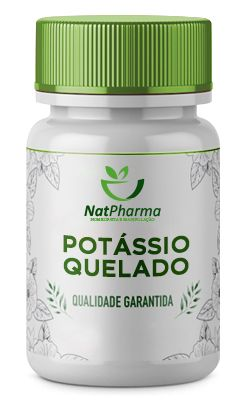 Potássio Quelado 100mg - 60 caps
