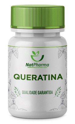 Queratina 500mg - 60 caps