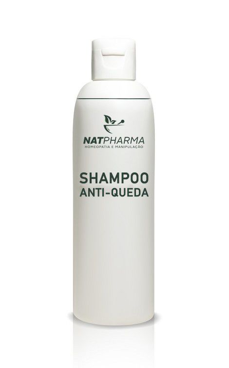 Shampoo Anti-queda - 200ml - Combate a Queda de Cabelos e AJuda no Crescimento Capilar