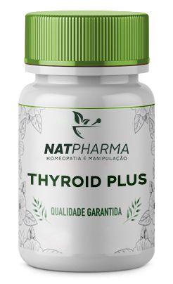 Thyroid Plus - Acelera o Metabolismo através do Estímulo da Tireóide- 30 caps