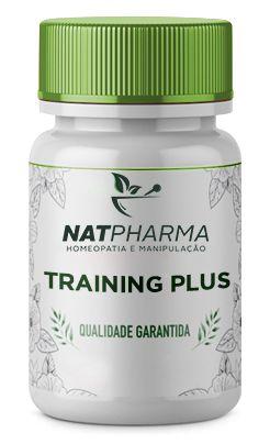 Training Plus - Pré-Treino, dá energia e ajuda na queima de gordura - 30 caps