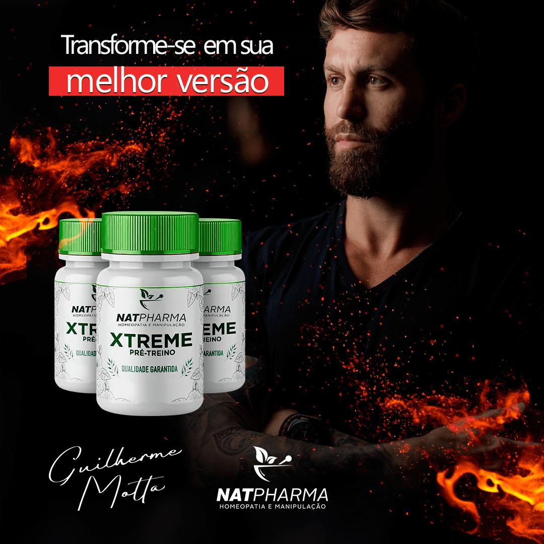 XTREME - Melhora o desempenho no treino, acelera o metabolismo - 30 caps