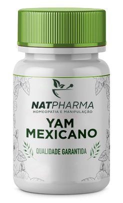 Yam Mexicano 500mg - 60 caps