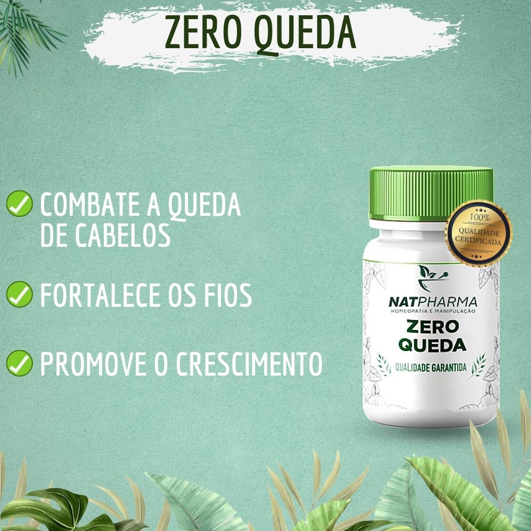 ZERO  Queda - Combate a queda de cabelo - 60 caps