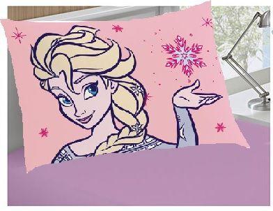 7852550af9 Jogo de cama 2 peças Frozen - lençol com elástico. Passe o mouse e veja  detalhes. Image description