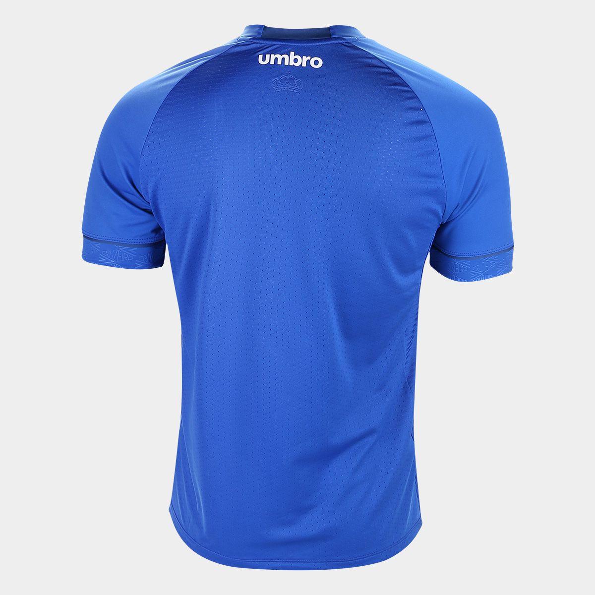 ... Camisa Cruzeiro I 18 19 s n° C  Patrocínio - Torcedor Umbro ... c9f54c92cfbb9