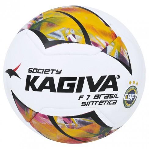 BOLA DE FUTEBOL SOCIETY KAGIVA F 7 BRASIL