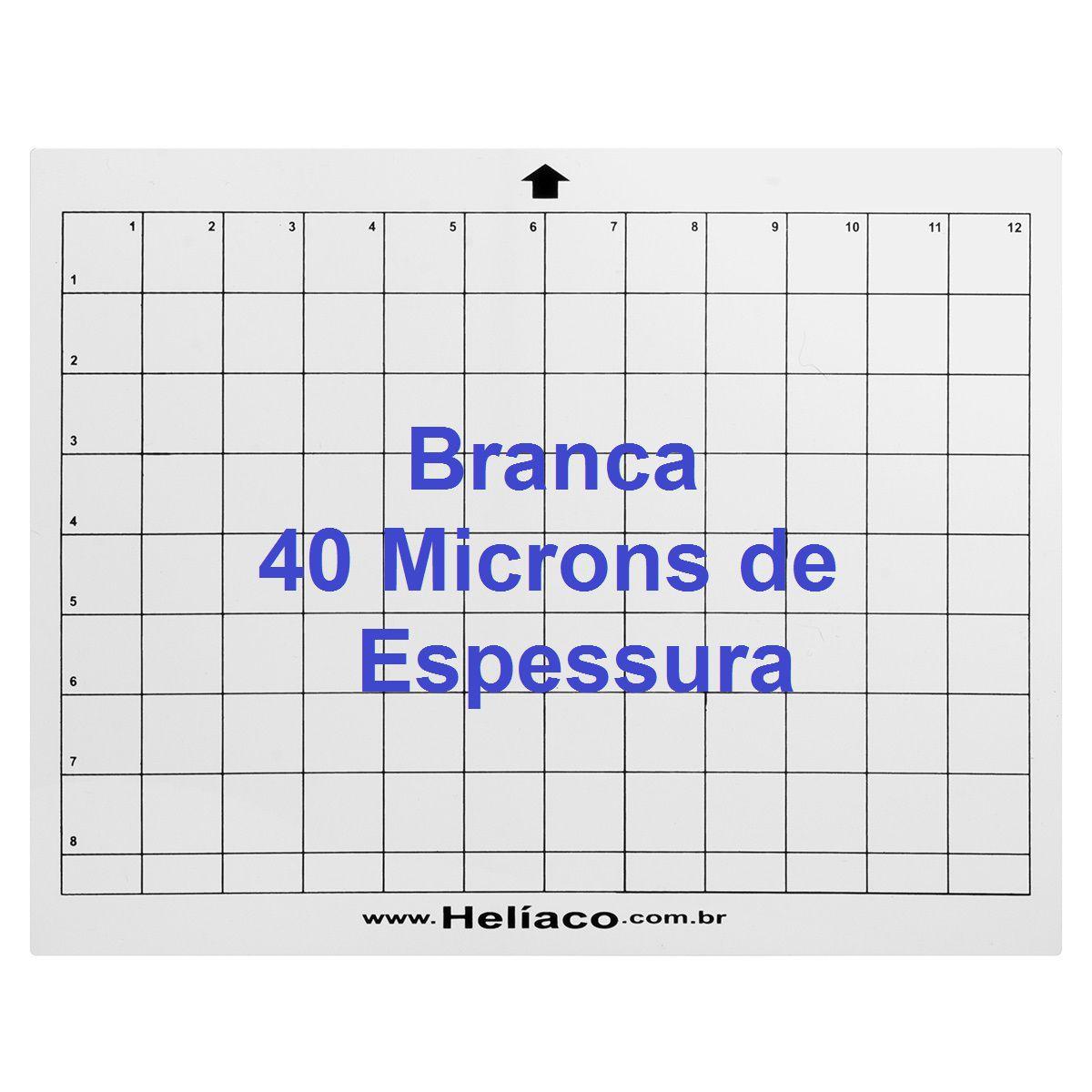 bb8fa951f9160 Base de corte para Silhouette Cameo A4 Paisagem BRANCA COM cola - 40mm de  espessura