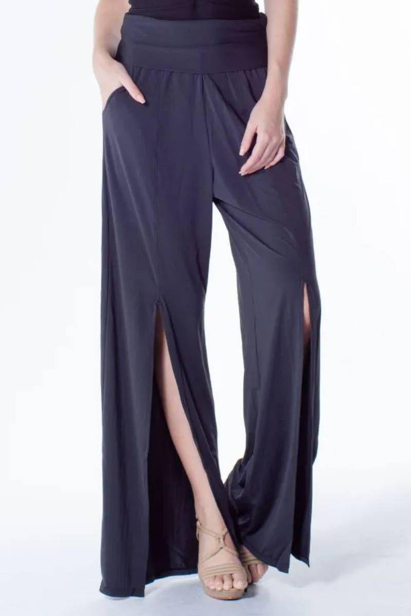 Calça Pantalona Com Abertura Proteção Uv 323392 La Playa
