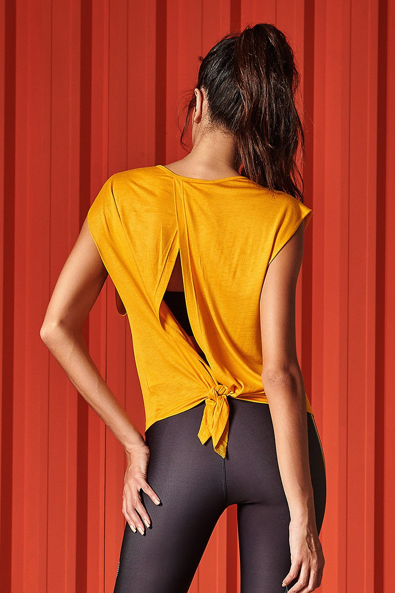 Camiseta New Comfort Amarelo 0345700263 Colcci By Colcci