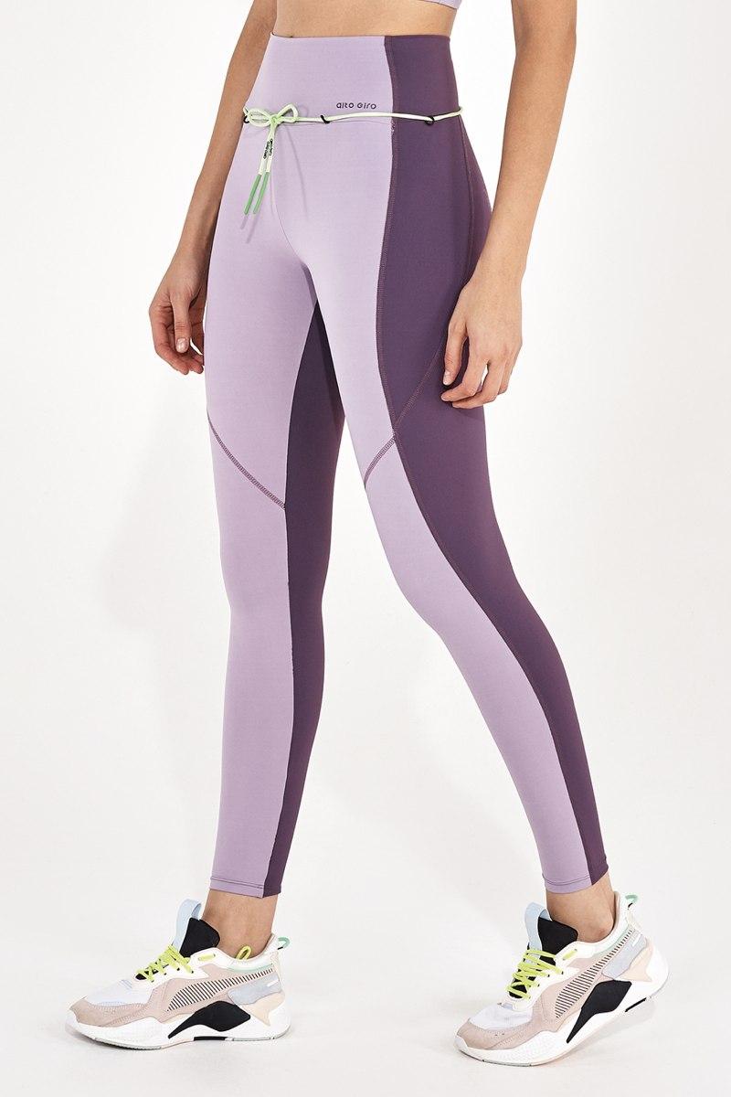 Legging Body Tex Breeze Recortes Lilas Zen 2112337 Alto Giro
