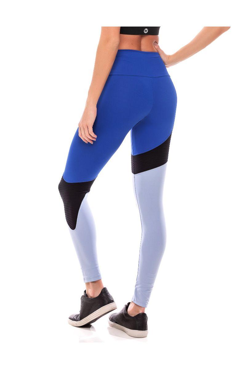 Legging Fusô Blue Velvet Azul Bic Fs898 Vestem
