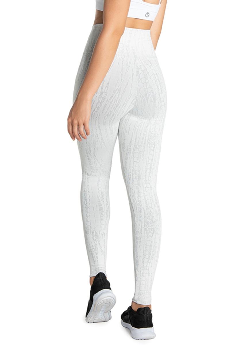 Legging Fuso Delicate Branco Fs1008 Vestem