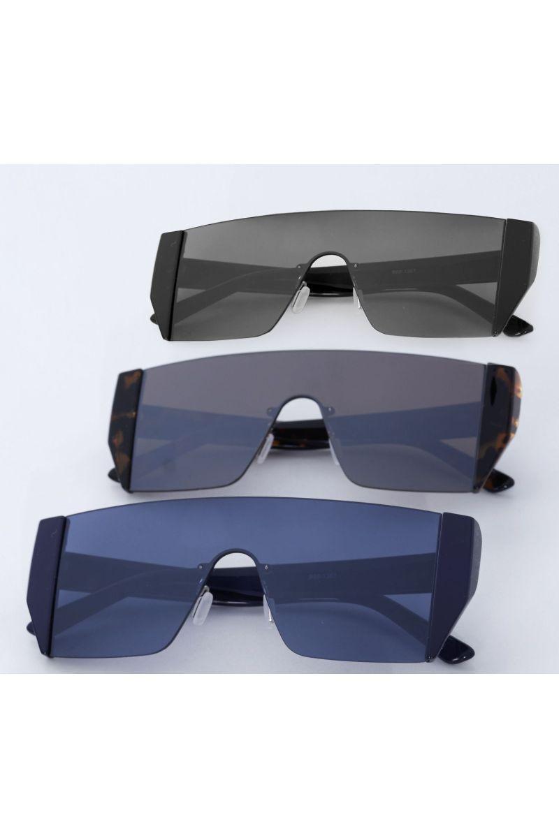 Oculos Reto Preteção Uv Nude 934602 New Beach