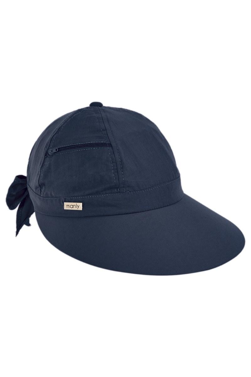 Quepe De Tecido Com Regulagem Azul Marinho Proteção Uv 29200 Manly