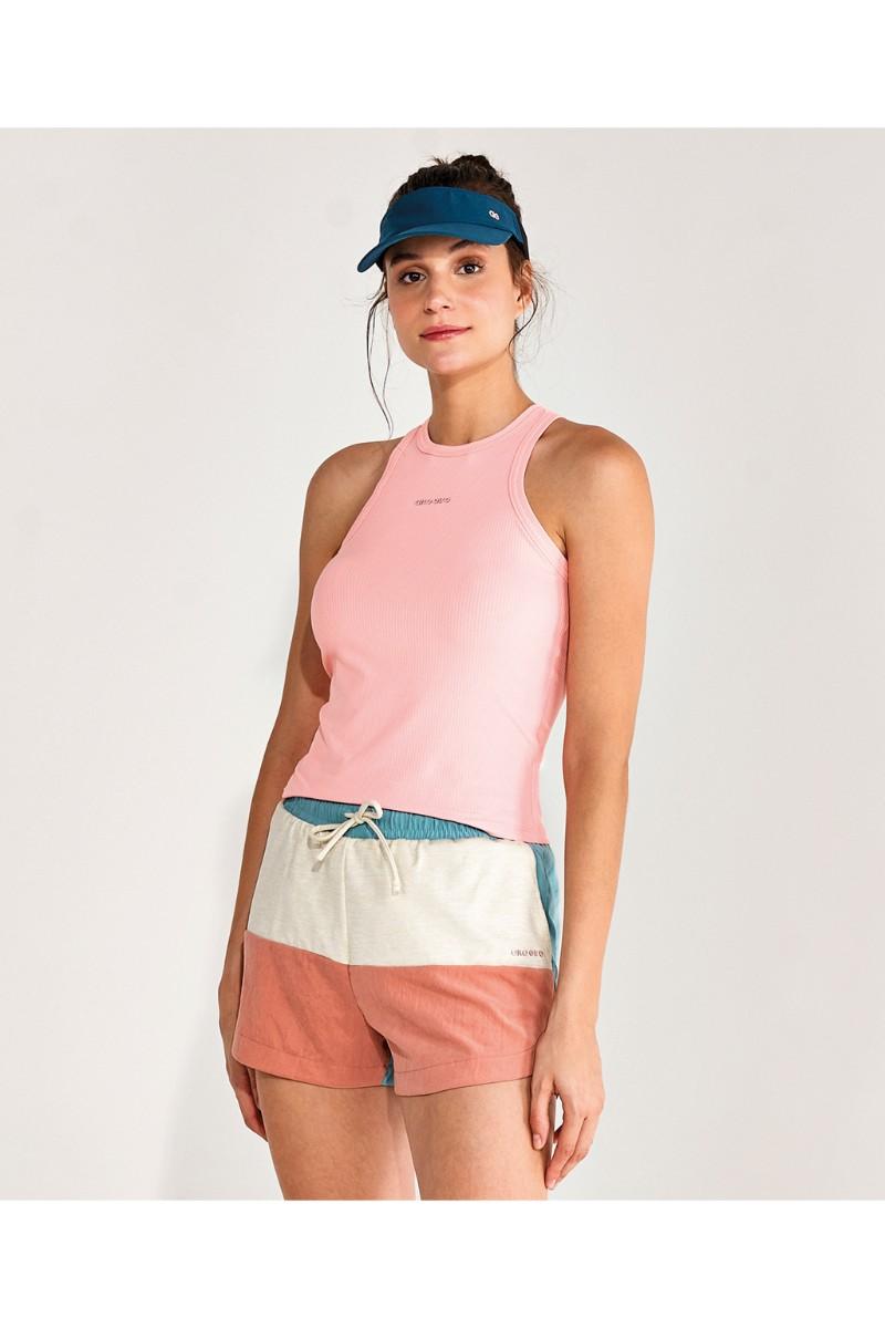 Regata Rib Regular Nadador Coral Cream 2112632 Alto Giro