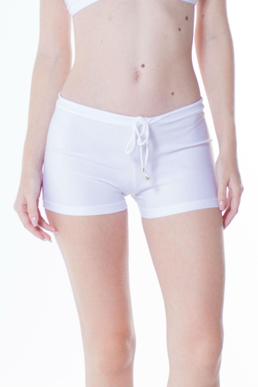 Shorts Agua Lycra Branco 205391la Playa