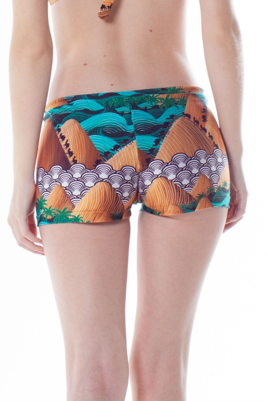 Shorts Agua Lycra Trilobal 2053931 La Playa