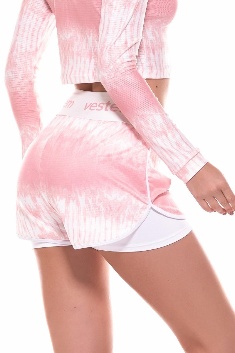 Shorts Beyond Rosa Claro Sh292 Vestem