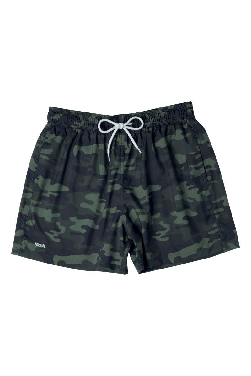 Shorts Curto Camuflado Verde 614.06 Mash