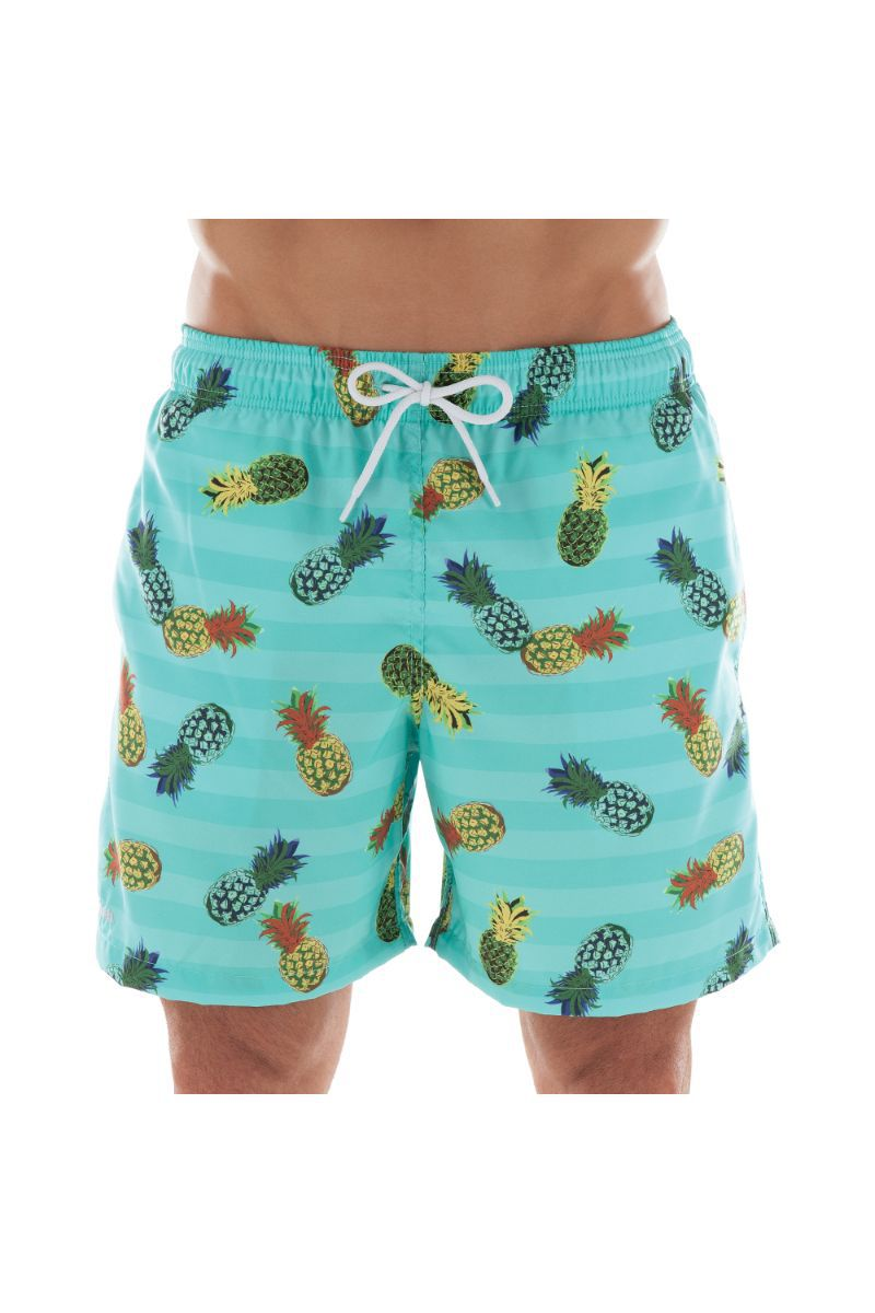 Shorts Estampado Frutas Abacaxi  613.32 Mash