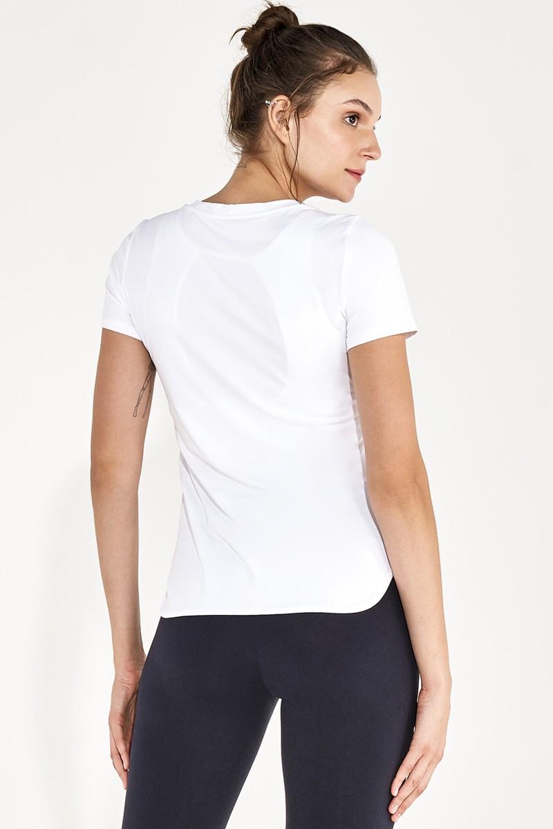 T-shirt Skin Act Branco 2111734 Alto Giro