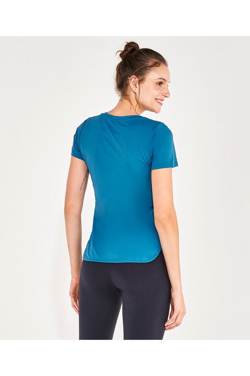T-shirt Skin Act Verde Strong 2111734 Alto Giro