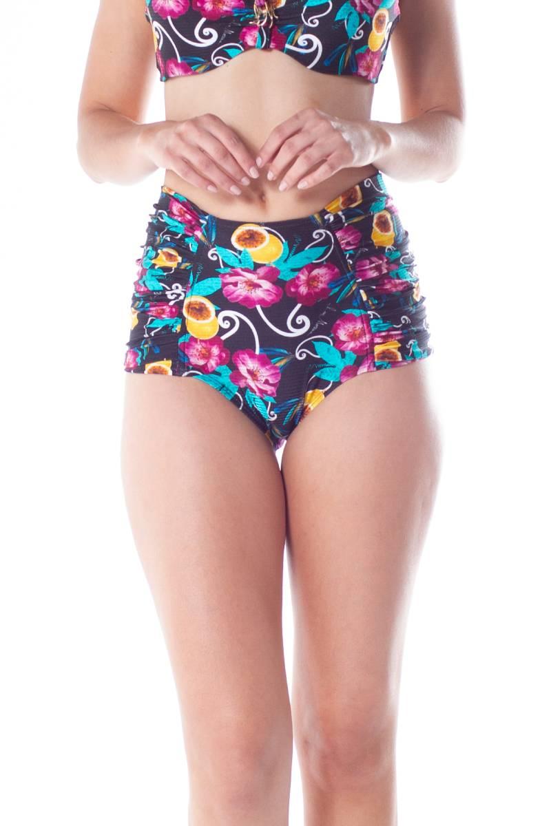 Tanga Hot Pants Drapeada Trilobal 2113843 Lua Morena