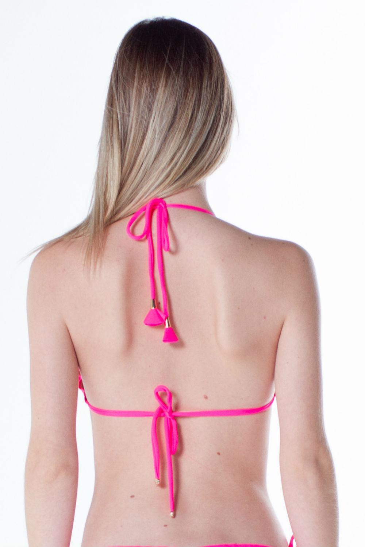 Top Cortininha Ripple Pink Neon 1343913 La Playa