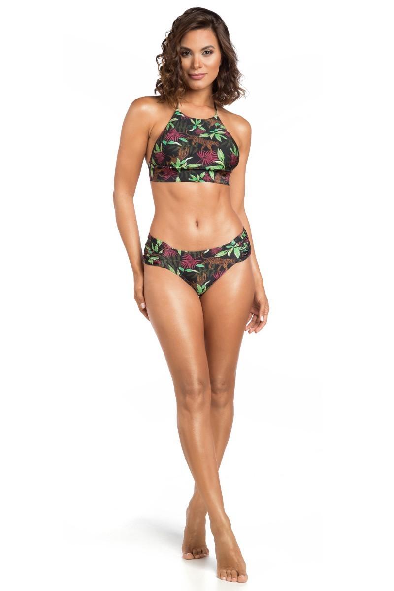 Top Cropped Com Faixa Jungle 1064511 La Playa
