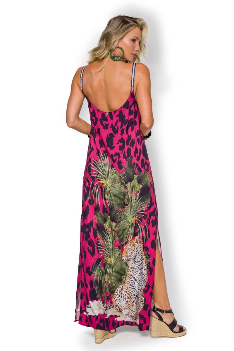Vestido Longo Feeling Sp9523bq De Chelles