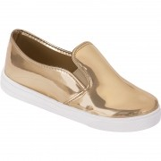 Slip on Adulto Metalizado 111.02.033 | Dourado