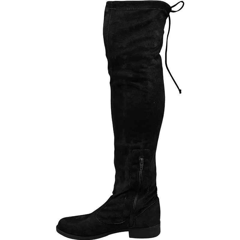Bota Montaria Over The Knee com Camurça Stretch 103.04.009 | Preto