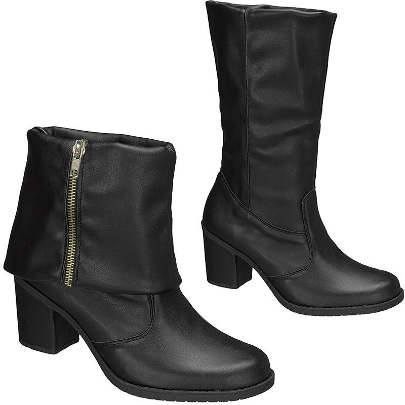 Bota Salto Grosso Ankle Boot 122.02.009 | Preto