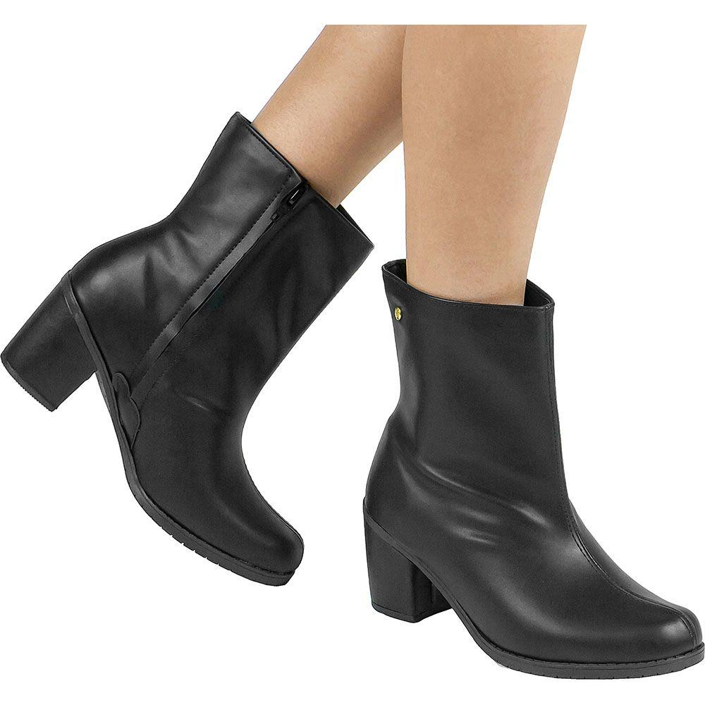 Bota Salto Grosso Ankle Boot 122.15.009 | Preto
