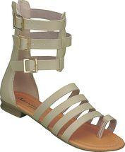Sandália gladiadora 64.52.004 | Marfim