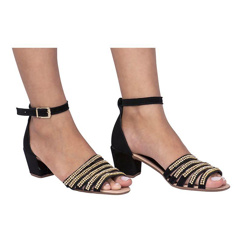 Sandália Salto Adulta 116.04.009 | Preta