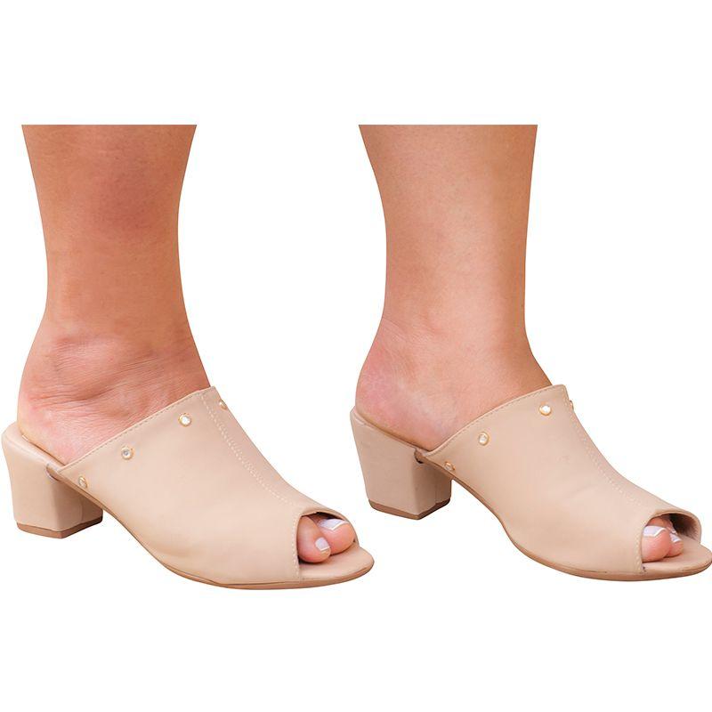 Sandália Salto Adulta 116.06.041 | Nude