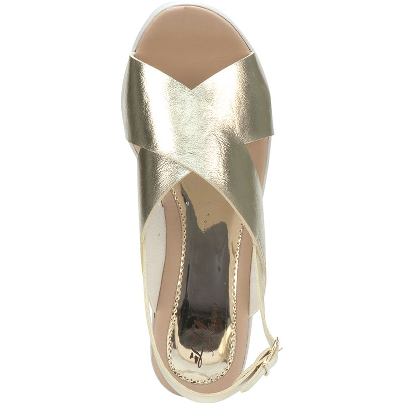 Sandália tratorada 112.04.033   Dourada