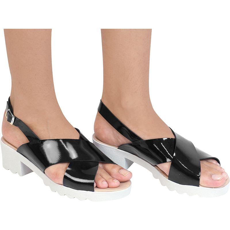 Sandália tratorada 112.04.009 | Preta